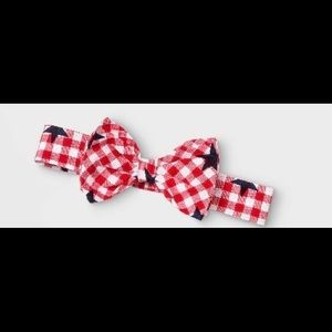 Red, White & Blue Adorable Bow Headband